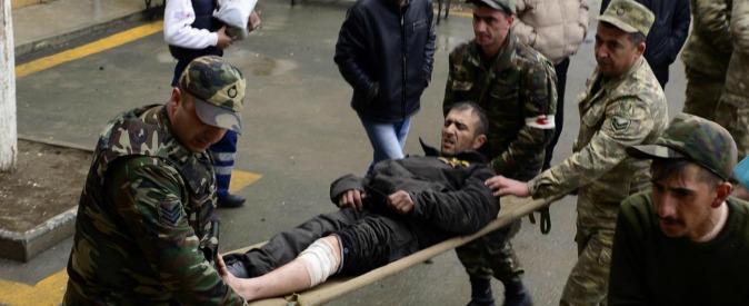 """Nagorno-Karabakh, dopo 22 anni finisce la tregua tra Armenia e Azerbaigian: """"300 morti"""""""