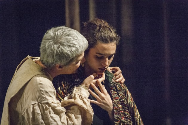 Silvia Pasello - Maria Bacci Pasello - Lear foto di Roberto Palermo 2