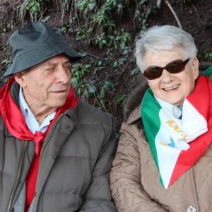Staffetta Elsa Pelizzari con Lino Pedroni 675 quad
