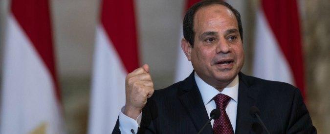 """Giulio Regeni, Al Sisi: """"Media egiziani scrivono menzogne. Ucciso da persone malvagie, non da 007"""""""
