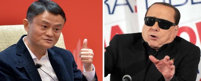 Milan, c'è il colosso cinese Alibaba nel futuro. Il magnate Jack Ma in trattativa con Berlusconi: 500 milioni per il 70%