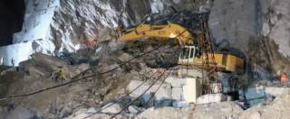 Alpi Apuane, costone franato: ritrovati morti i due operai dispersi