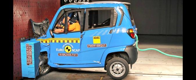 Microcar, i risultati dei crash test europei sono fallimentari. E' allarme sicurezza