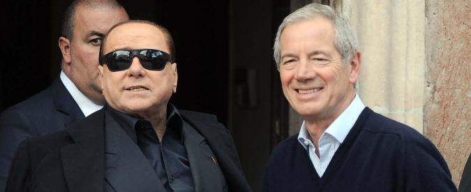 """Roma, Berlusconi: """"Piena fiducia in Bertolaso: io mantengo la parola. Unità del centrodestra? Qui non si può"""""""