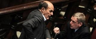 Referendum, Bersani annuncia che farà campagna per il No. Tensione con Cuperlo