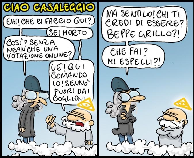 In morte di Casaleggio