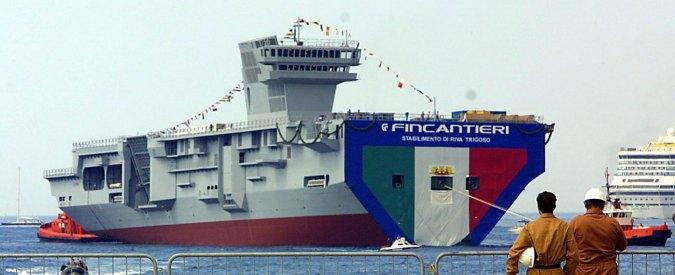 Marina militare la nave umanitaria si trasforma in - Nave portaerei ...