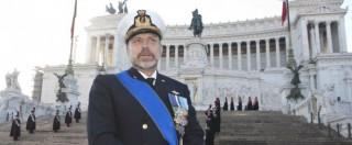 """De Giorgi, dossier accusa l'ammiraglio: """"Feste sulle navi, jet come taxi, milioni per modificare cuccette dei comandanti"""""""