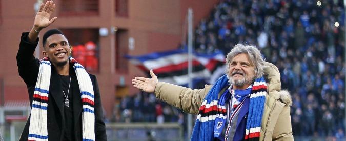 """Massimo Ferrero, Eto'o sporge denuncia: """"Non ha rispettato il contratto"""" – Video"""