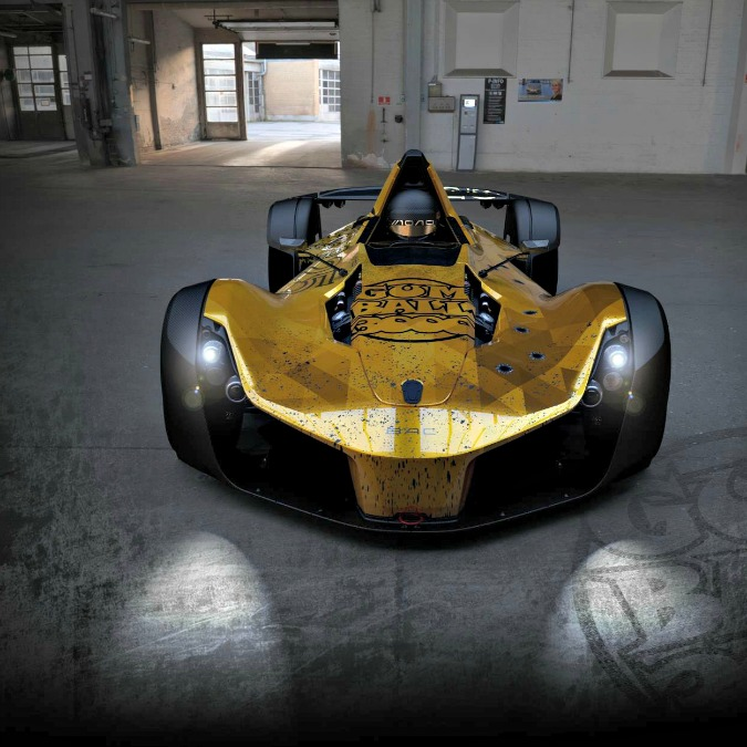 """Bac Mono, la supercar """"personalizzata"""" inglese è pronta per la Gumball 3000 – FOTO"""