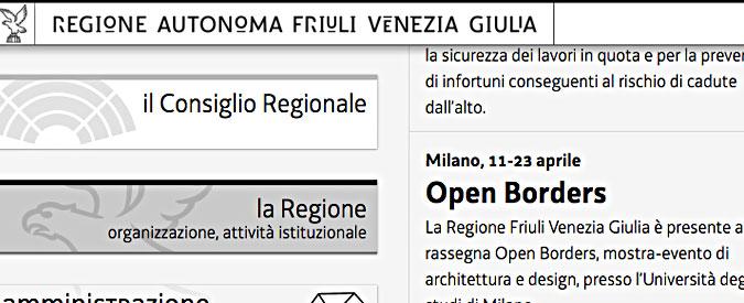 Friuli Venezia Giulia, l'inchiesta spese pazze finisce con 18 assoluzioni su 22 indagati
