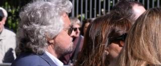 """Funerale Casaleggio, Grillo: """"Andiamo avanti con la sua eredità. Ma stiamo attenti ai finti amici"""""""
