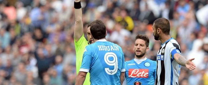 Gonzalo Higuain, 4 giornate di squalifica: salterà Inter e soprattutto Roma – Video
