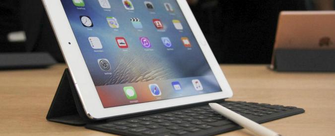 iPad Pro 9.7, test e prova d'uso del Fatto.it: lo schermo si adatta alla luce dell'ambiente