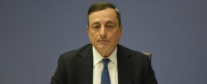"""Banche, Draghi: """"Paracadute pubblico per crediti deteriorati in casi eccezionali"""". Ft: """"A Mps serve l'ultimo salvataggio"""""""