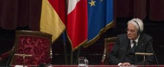 """Immigrazione, Mattarella: """"I muri sono solo una zavorra. Al Brennero rischia di essere un atto di autolesionismo"""""""