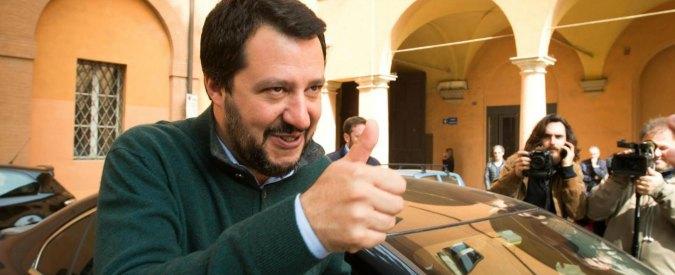 """Diritti tv, Salvini: """"Berlusconi? Renzi lo tiene sotto scacco con lo spauracchio di una legge che penalizzi Mediaset"""""""