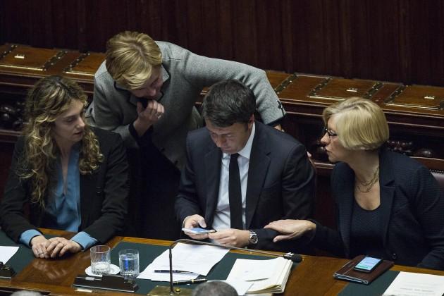 Camera - Matteo Renzi riferisce sul prossimo Consiglio Europeo