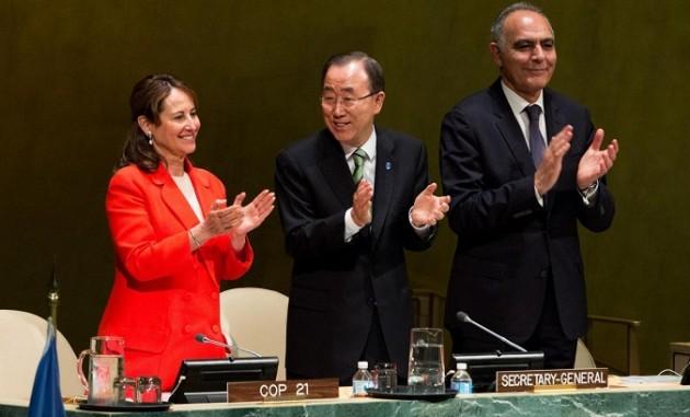 ONU: Accordo di Parigi sul cambiamento climatico siglato da 175 paesi