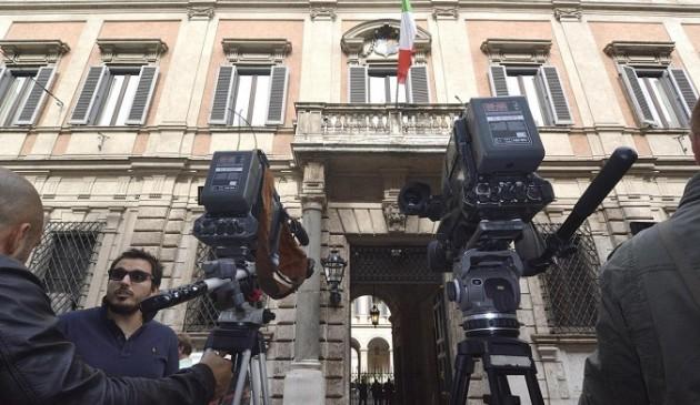 Forza Italia, riunione del Comitato di Presidenza, con Silvio Berlusconi