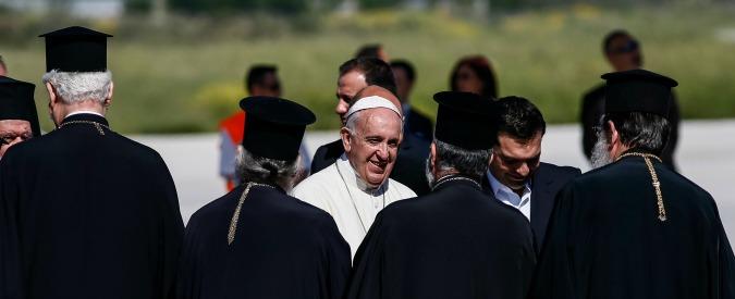 Papa Francesco a Lesbo, 12 profughi a Roma con il Pontefice. Ospiti Sant'Egidio