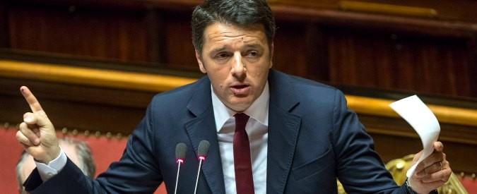 Matteo Renzi e il bon ton del lanciafiamme