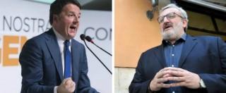 """Pd, Renzi: """"Hanno paura del congresso"""". Speranza, Emiliano e Rossi: """"Partito personale, lui è il Cesare di una nuova Dc"""""""