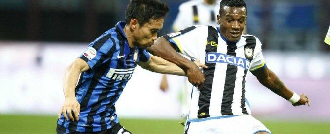 Serie A, risultati e classifica 35esima giornata: Inter piega l'Udinese in attesa di Juve e Napoli. Salva l'Atalanta