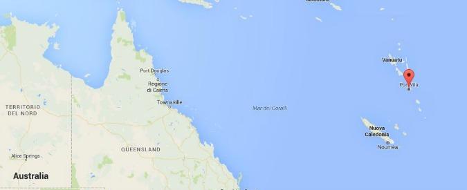 Isole Vanuatu, terremoto di magnitudo 7.2. Allarme tsunami poi revocato nel Pacifico