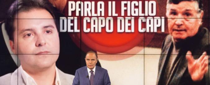 """Riina jr, Vespa: """"Biagi intervistò Sindona e nessuno batté ciglio"""". Figlio del boss sulle stragi: """"Decisione fu: abbattiamoli"""""""