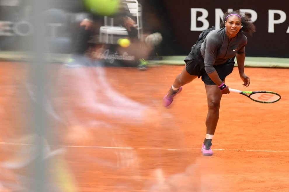 Serena Williams grande figa