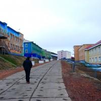 Barentsburg, la via principale