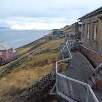 Barentsburg, le strutture dei primi insediamenti