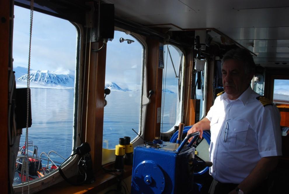 """Il capitano della """"Nordstjernen"""""""