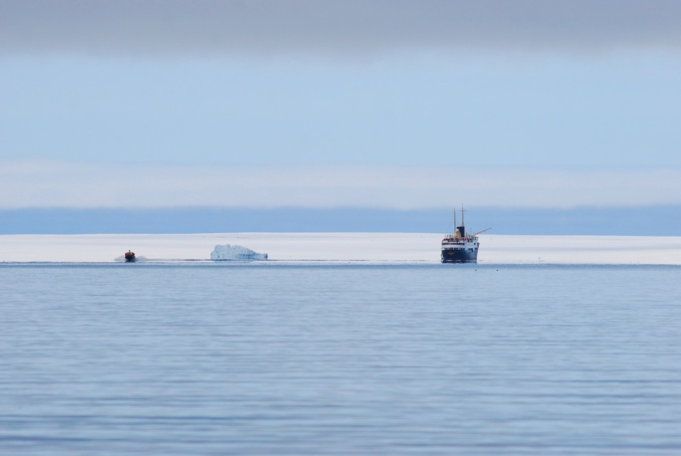 Un iceberg isolato