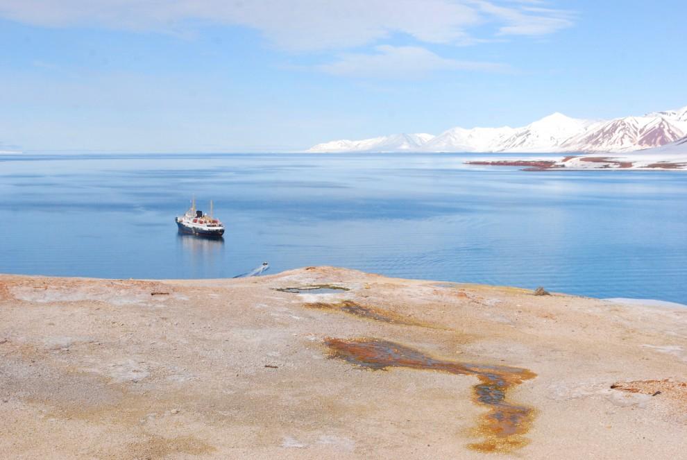 Sorgente d'acqua calda nel Bockfjord