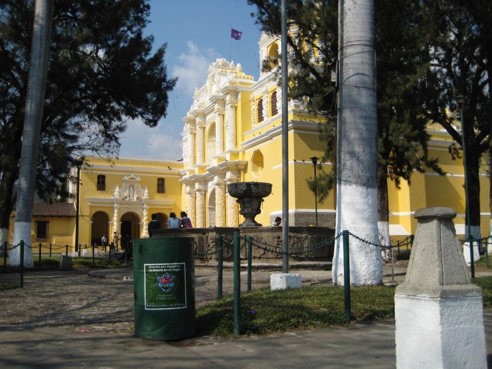 Antigua, iglesia de La Merced