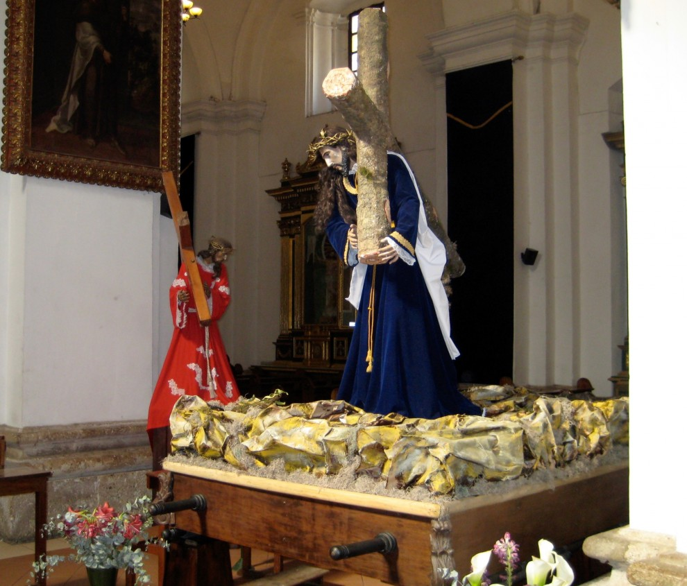 Antigua, il Cristo da portare in processione