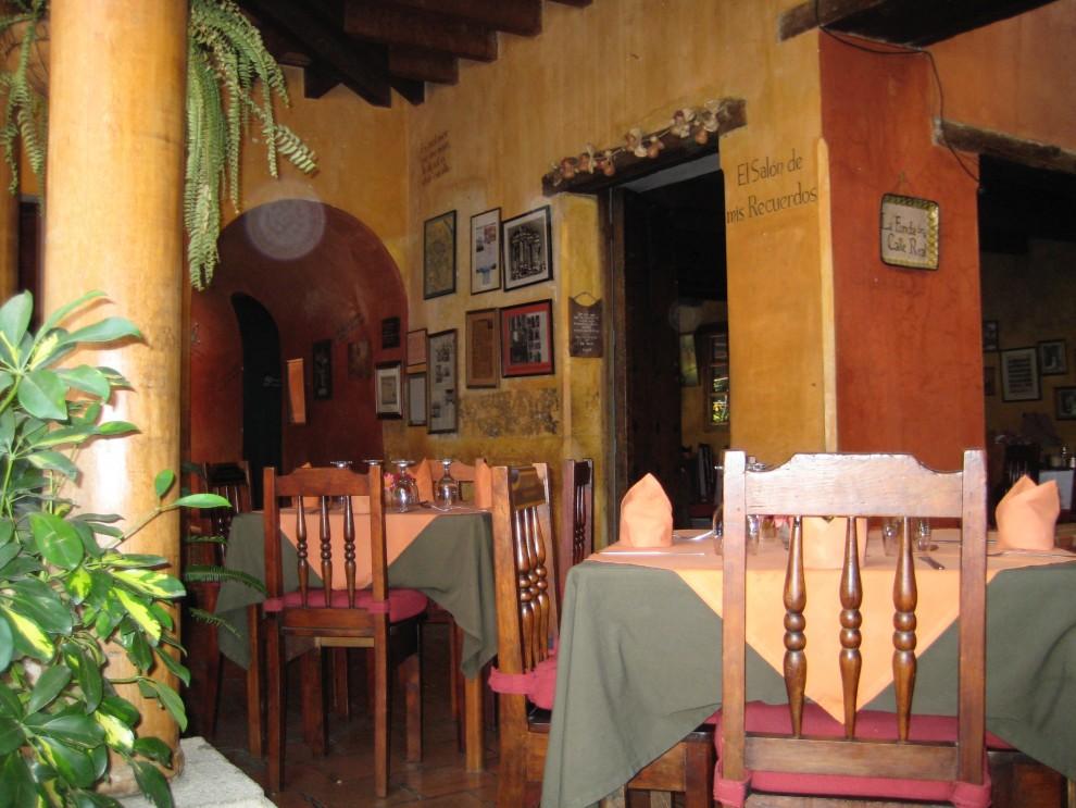 Antigua, il ristorante La Fonda de la Calle Real