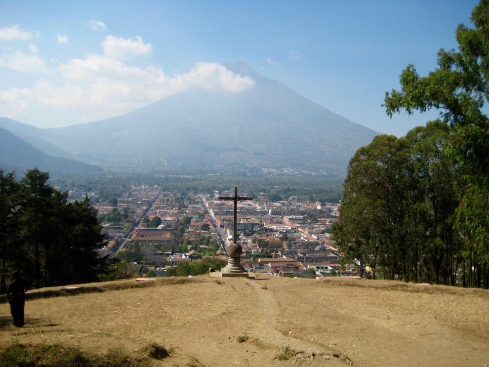 Antigua, il vulcano Agua