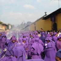 Antigua, processione durante la Semana Santa