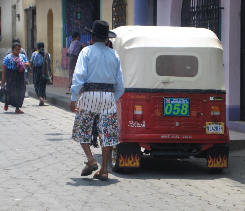 Antigua, tuk-tuk