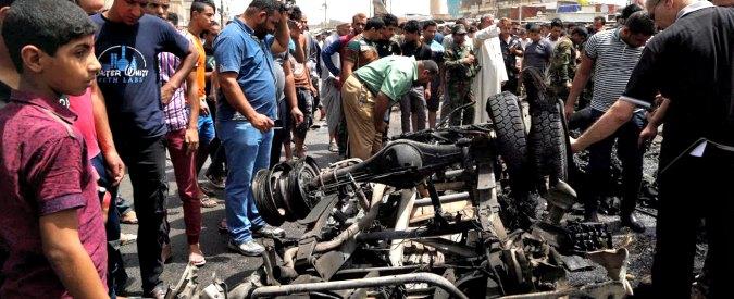 Raffica di attentati a Baghdad, oltre 80 i morti. Tre autobombe, una rivendicata da Isis