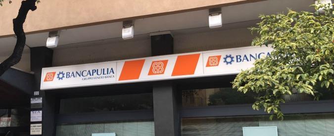 """Veneto Banca, i piccoli soci della controllata BancApulia: """"Mutui in cambio di acquisto azioni. E abbiamo perso tutto"""""""