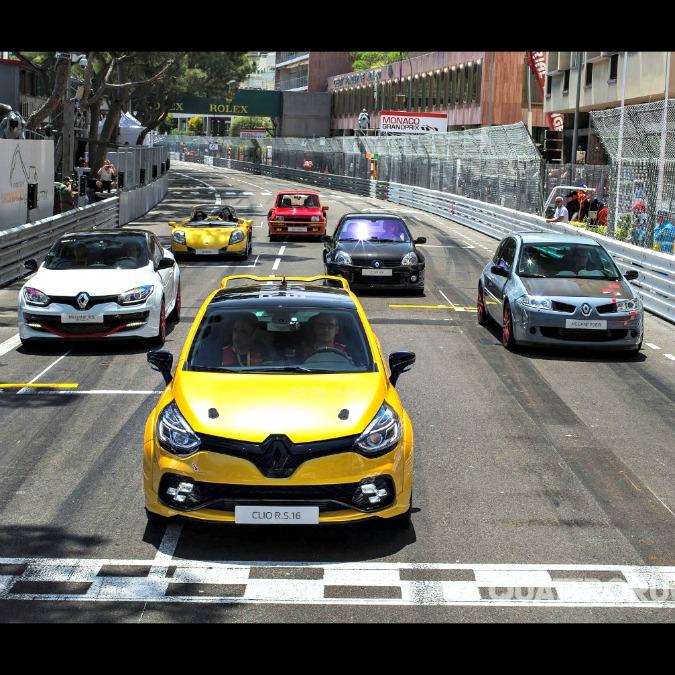 Renault Clio RS 16, il piccolo bolide debutta a Montecarlo – FOTO