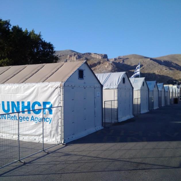 Campo UNHCR Kalymnos