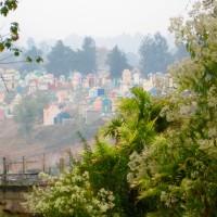 Chichicastenango, il cimitero avvolto nella nebbia
