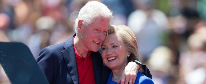 """Usa 2016, Hillary Clinton: """"Se eletta darò incarico a Bill per rilanciare l'economia"""""""