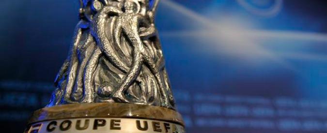 Europa League, la leggenda di Gazzaniga: il disegnatore della Coppa Uefa – Video