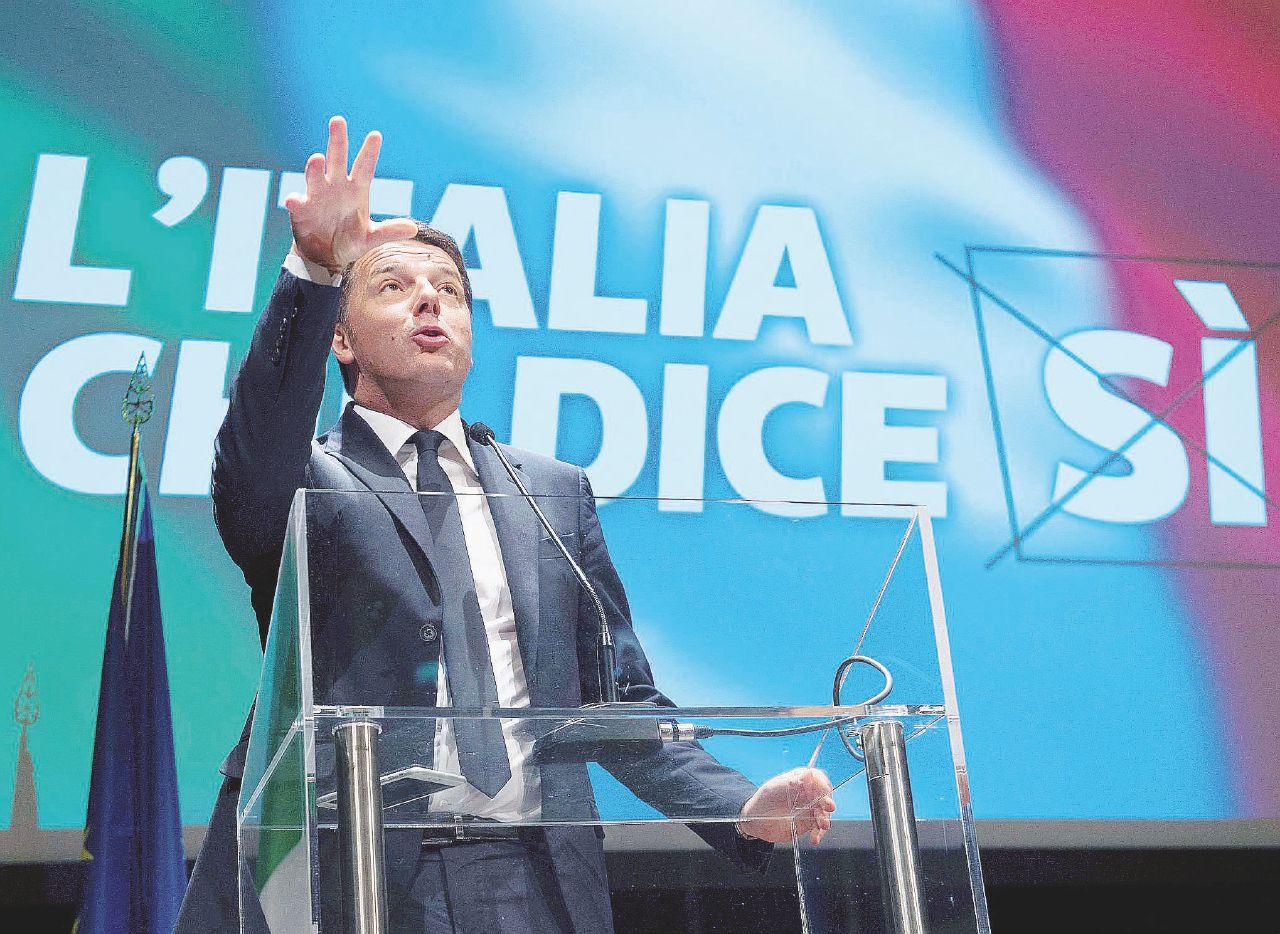 La gioiosa macchina da guerra di Renzi per il Sì al referendum